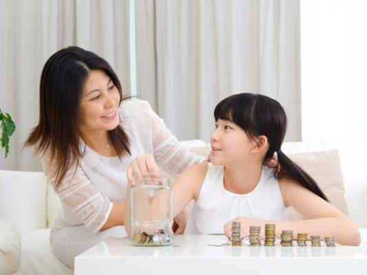 Giúp các con hình thành những kỹ năng về quản lý tài chính